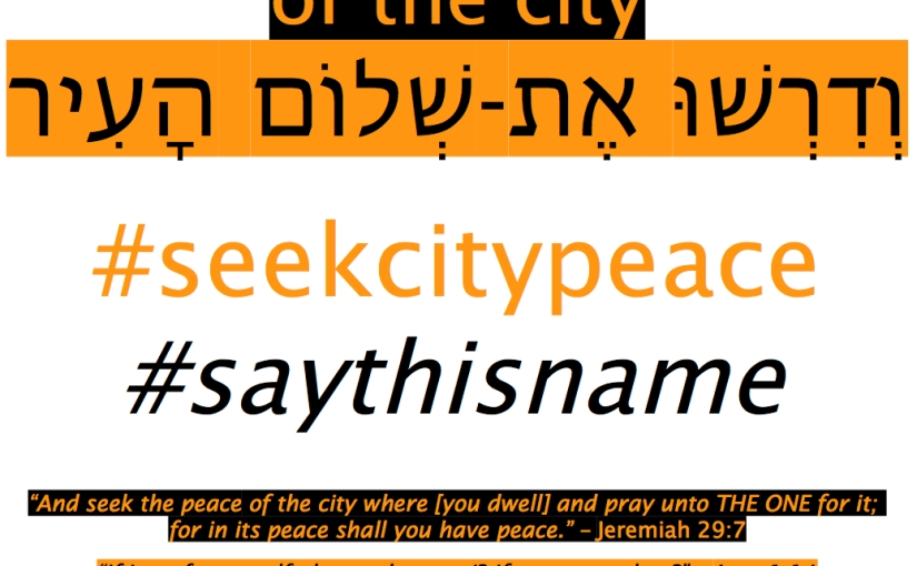 Seek the Peace of theCity