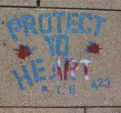 Outside McPherson Square Metro Station, 9/15/15