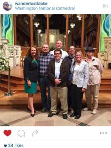 Project End Gun Violence activists with Rep. Elizabeth Esty (D-CT 5th, Newtown-Sandy Hook) at the Cathedral 11/3/15