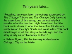 """Many things are """"fully as terrible"""" 60 years on"""