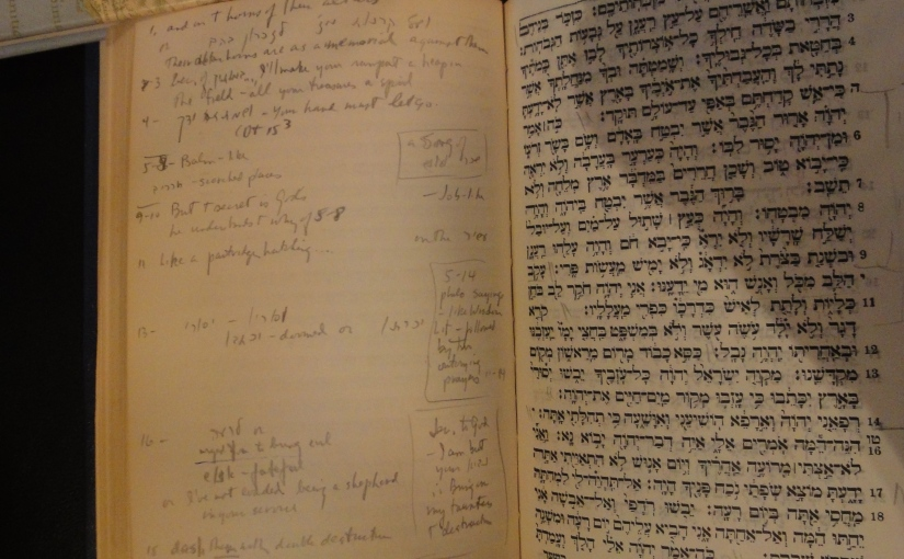 Notes on Jeremiah: Max Ticktin'sScribbles