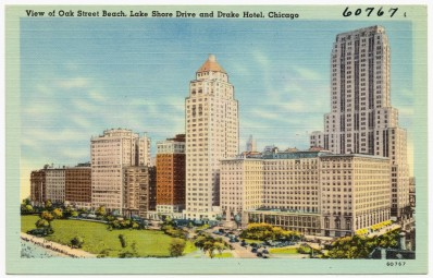 view_of_oak_street_beach,_lake_shore_drive_and_drake_hotel,_chicago_(60767)