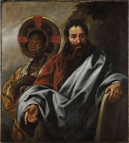 433px-Jacob_Jordaens_-_Moses_and_his_Ethiopian_wife_Sephora